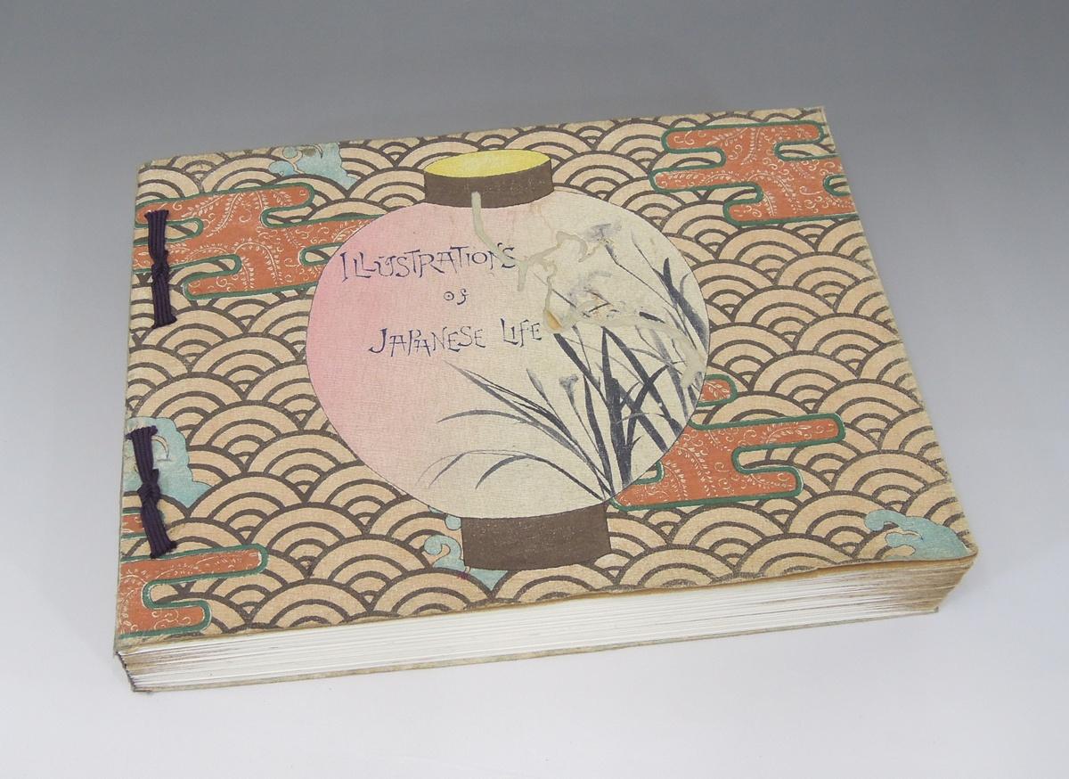 ちりめん本 illustrations of japanese life 日本風俗写真帖 古美術